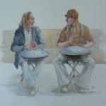 Hang-Drummers