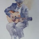 Portobello-guitarist