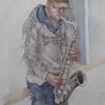 Street-Saxophonist-Oxford