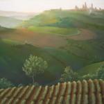 View-of-San-Gimignano-evening